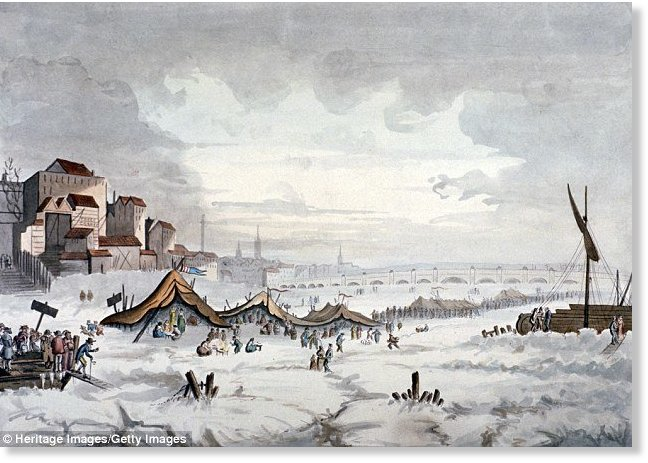 london and the little ice age
