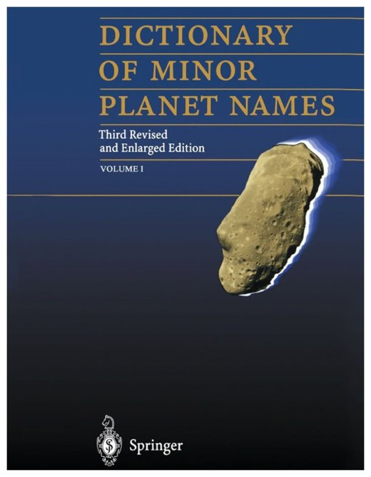 Dictionary of Minor Planet Names