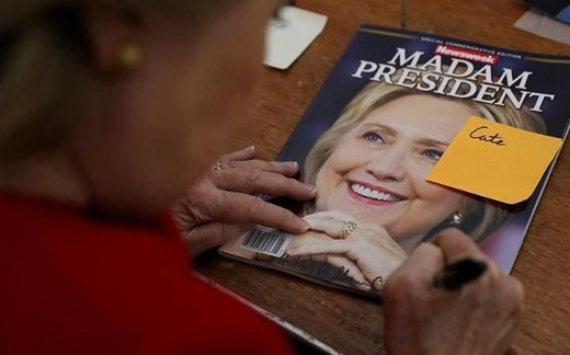 Oops! Newsweek recalls 125,000 copies of its souvenir Madam President issue