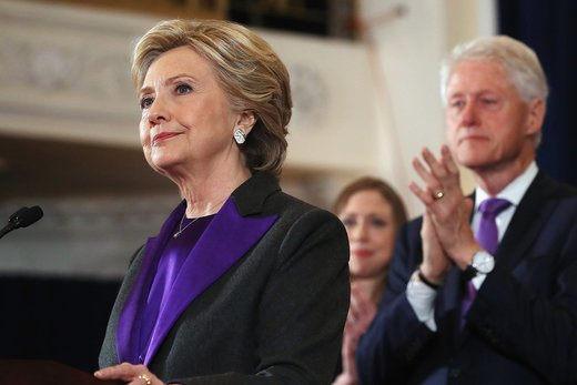 Clintons purple revolution