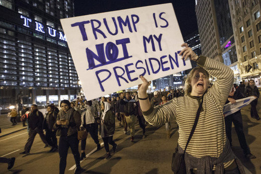 anti-trump protests chicago