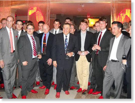 Podesta red shoes