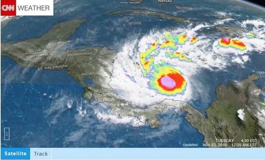 Otto sets new record as latest hurricane to form in Caribbean