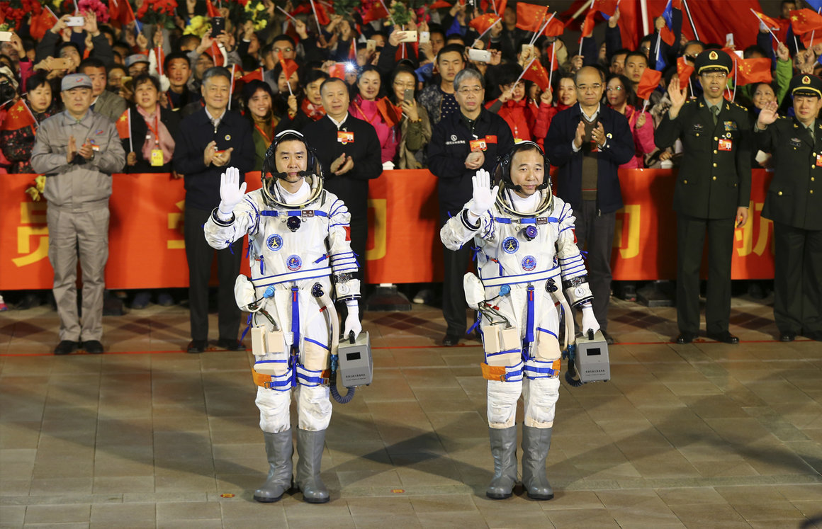 Secretive Chinese space program gives NASA a run for its ...