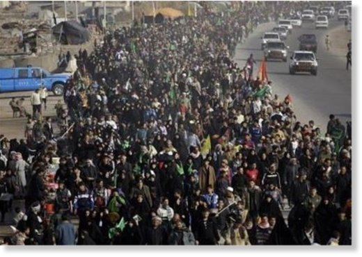 Karbala march