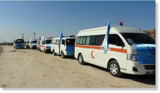ambulances aleppo