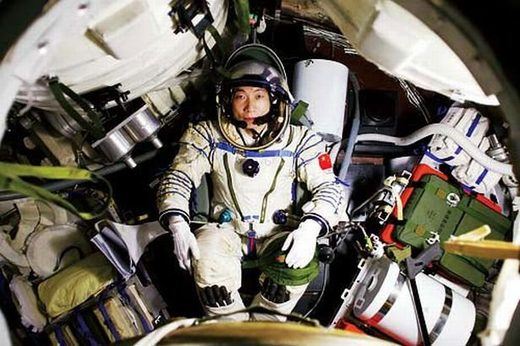 Chinese astronaut Yang Liwei 2003 spaceflight