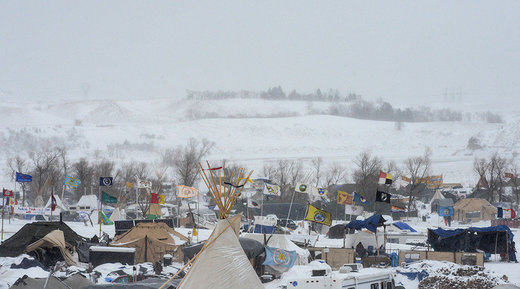 Law enforcement in North Dakota to begin blocking supplies to main camp of DAPL protesters