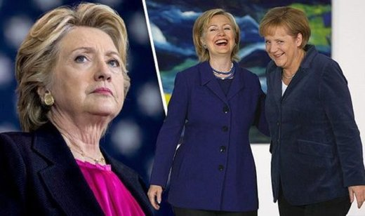 Pay for play: Merkel backed Killary campaign using £4M in taxpayer cash to support Clinton Foundation