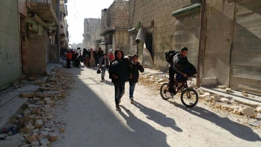 Escape from East Aleppo - tears, hugs and smiles