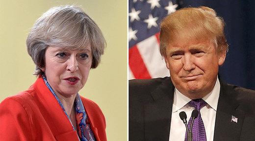 Trump and May have second phone conversation over NATO spending