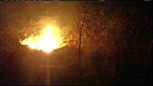 Pipeline explosion sparks big fire near KCI Airport, no injuries
