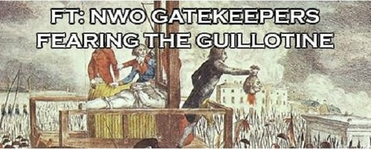 Marie Antoinette moment: Liberal order gatekeepers are headed for the guillotine