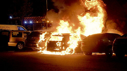 Swedish police suggest organized crime is behind wave of car-burnings as number of Stockholm 'no-go areas' grow