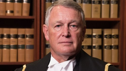 Canadian judge Justice Robin Camp