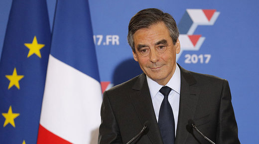 Election in France: Fillon set to beat Le Pen as poll shows 66% support