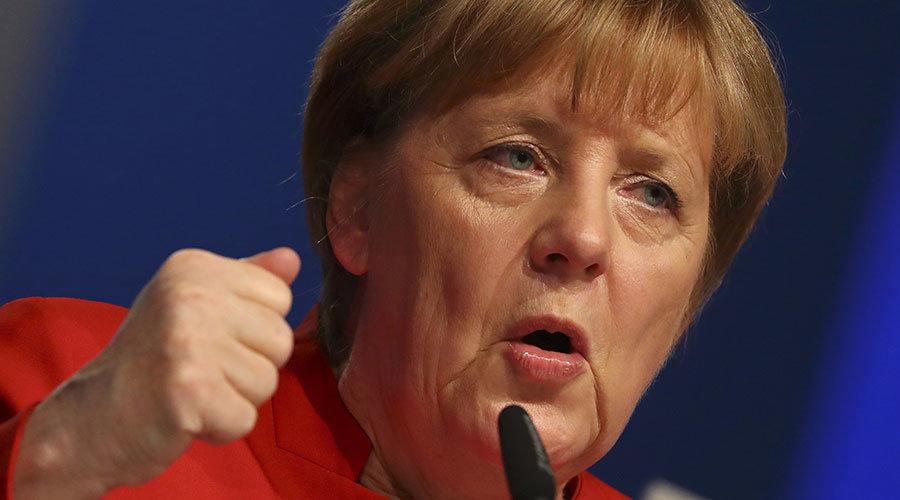 Merkel Stomps Her Foot Burka Must Be Banned In Germany Wherever