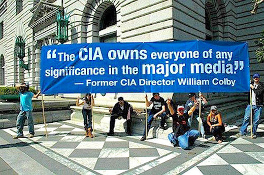 Sign CIA owns