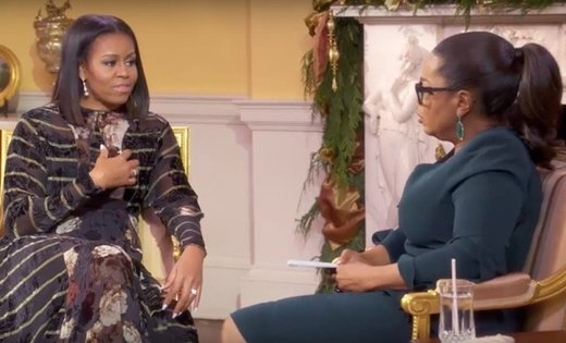 "Elite shill Michelle Obama gets into the act: Tells Oprah that since Trump's election, ""we're feeling what not having hope feels like"" (A Photo Essay)"