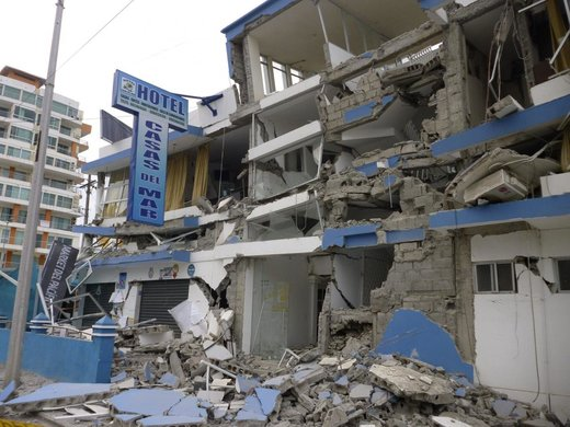 At least two killed by 5.8 magnitude earthquake off coast of Ecuador