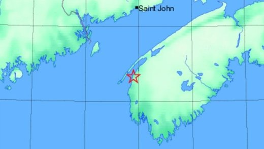 'Big boom' heard from 3.0 earthquake in southwest Nova Scotia