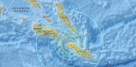 The 6.7-magnitude earthquake that struck off Solomon Islands on Tuesday (Dec 20) is the second powerful tremor to hit the islands to Australia's north in two weeks