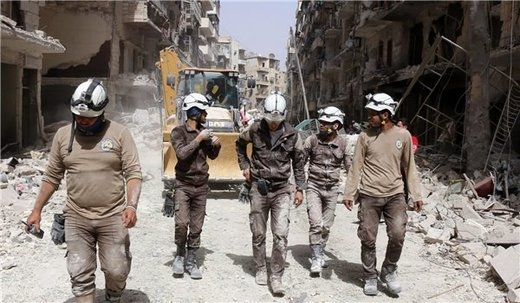 A Russian newspaper said in a report that the White Helmets Organization is behind the fake reports about Russia's airstrikes in Syria, adding that the organization is run by British agents