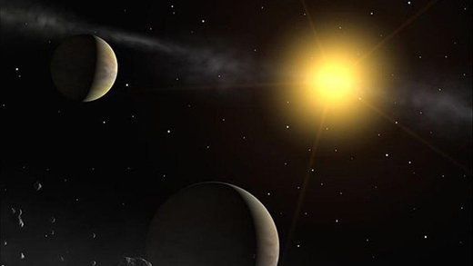 Incoming star Gliese 710 could spawn swarms of comets when it passes our Sun