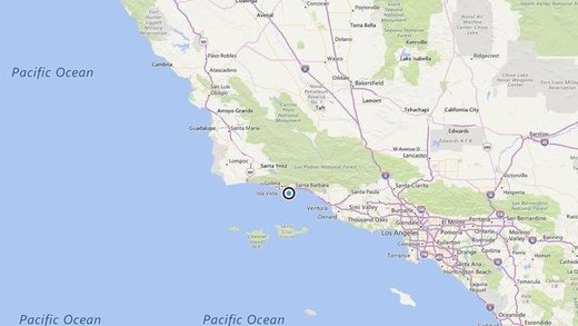 Shallow earthquake of magnitude 3.1 strikes near Santa Barbara, California