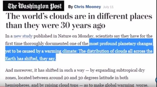 Global cloud cover changes caused by increases in galactic cosmic rays not CO2