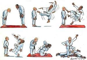 putin obama judo