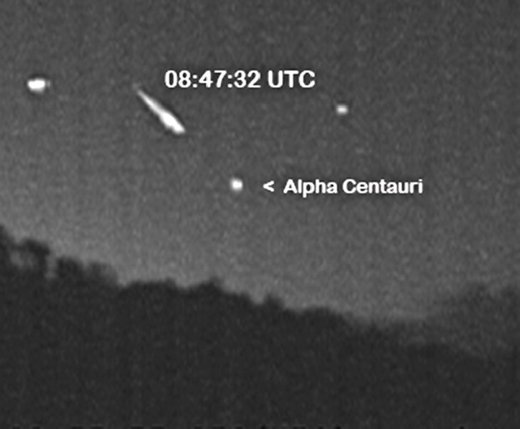 Anomalous: Three Quadrantid meteor fireballs in southern skies?