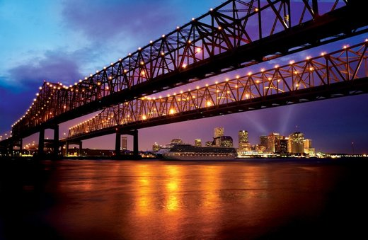 Bridge in New Orleans