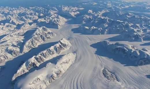 Snow and ice in Greenland