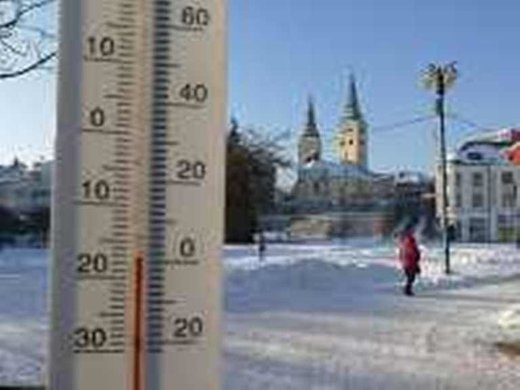 Record cold in Slovakia as temperature drops to -30.3C