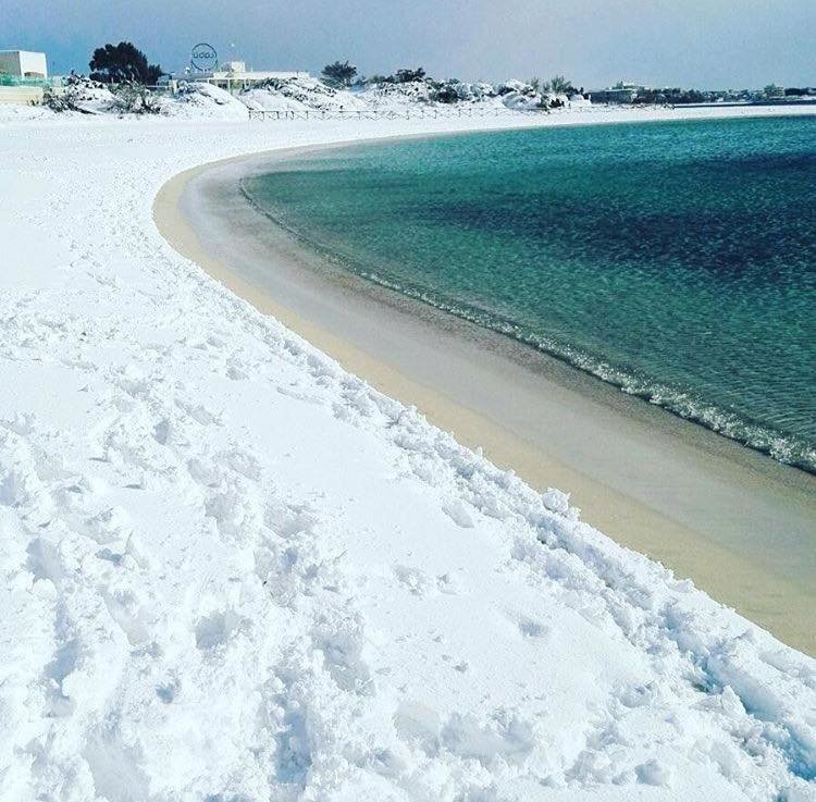 Porto Cesareo beach, Puglia, southern Italy, January 7th 2017