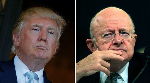 Trump and Clapper