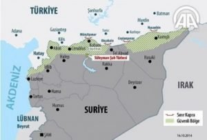 Syria map