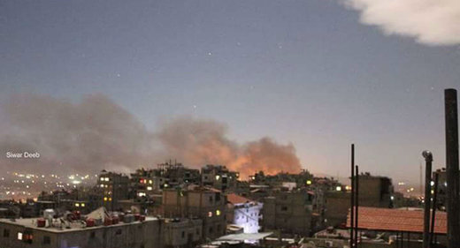 Israeli warplanes strike Syrian military airport in Damascus