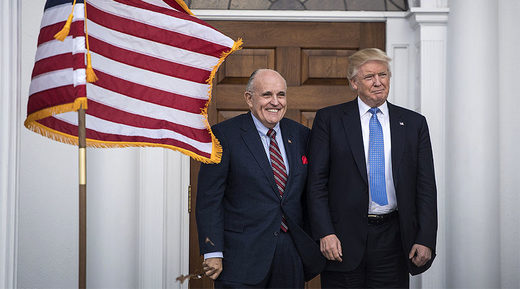 Scepticism rises as Trump appoints Rudy Giuliani to advise on cyber security