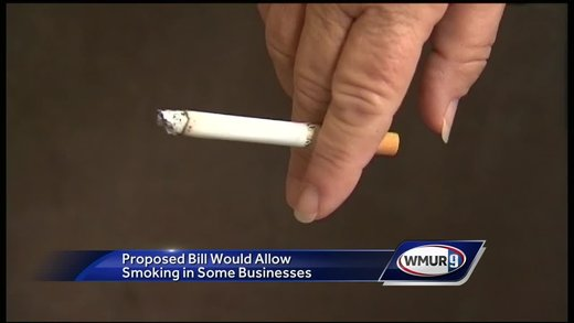 New Hampshire state lawmaker proposes bill rolling back smoking bans