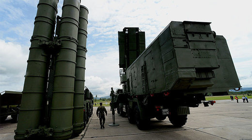 Russian C-400 air defense system