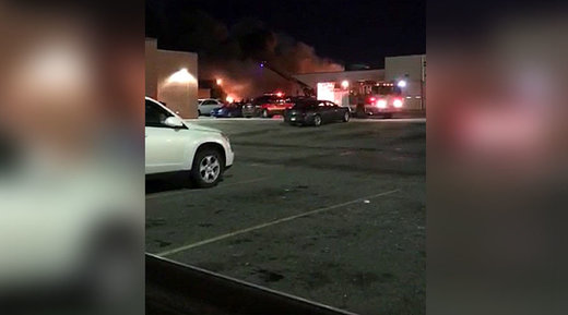 Reports of explosion, fire at DDOT bus terminal sustained significant damage in Detroit, Michigan