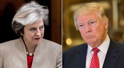 Theresa May claims Trump dossier spy Christopher Steele 'hasn't worked for UK for years'