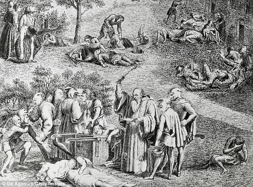 Convenient excuse? Race to make vaccine for the plague amid fears 'terrorists could be turning it into a weapon' to wipe out millions