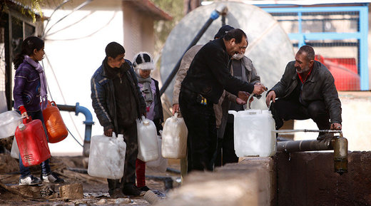 Government workers enter Damascus water-source area to restore supply after deal with rebels, Update: Syrian negotiator killed