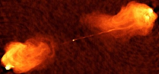 Mystery object spotted in Cygnus A Galaxy