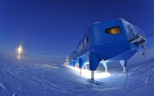 Science station Antarctica