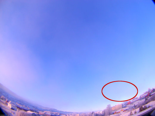 Daytime fireball over Norway