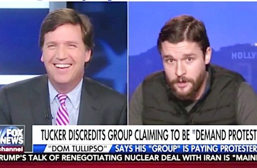 Tucker exposes hoax group claiming to pay protesters at Trump inauguration